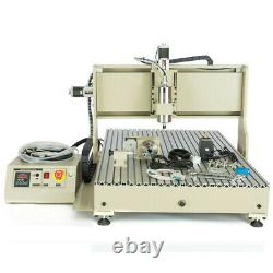 1.5KW 4Axis USB 6090 CNC Router Engraver Metal Driling Milli Machine +Controller