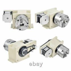 1500W 4 Axis USB Engraver 6040 CNC Router Engraving Machine VFD + Controller