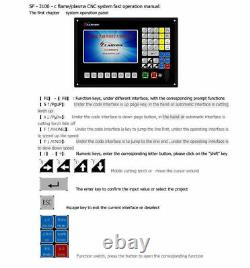2-axis 7 LCD CNC Control System For Flame/ Plasma Cutting Machine Controller