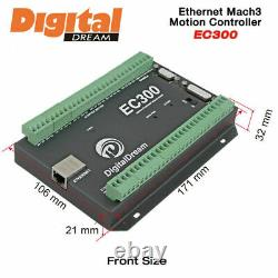 2020 EC300 CNC Motion Controller 300Khz for Mach3 with Ethernet Communication