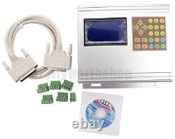 3.5A 4 Axis TB6560 CNC Stepper Motor Drive Box With Control Keypad+LCD Display