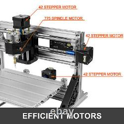 3 Axis 1610 CNC Router Kit With Offline Controller Milling Machine Aluminium USB