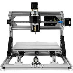 3 Axis 2418 CNC Router Engraver Machine Kit With Offline Controller Milling USB