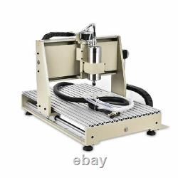 3 Axis CNC 6040 USB 1500W Router Engraver Wood Drilling Milling Machine+Control