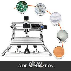 3 Axis CNC Router Kit 2418 Engraver T8 Screw Machine GRBL Controler Wood Milling