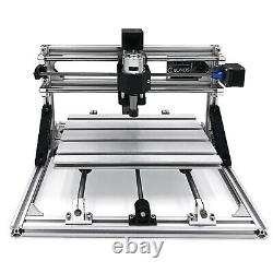 3 Axis CNC Router Kit 3018 With 5500MW Laser Aluminium GRBL Controler Engraver
