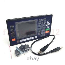 3 Axis CNC USB Controller 3.5'' LCD Servo Stepper Motor Control 480 Program Line