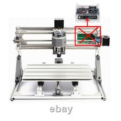 3 Axis DIY CNC 3018 Mill Engraving Router Machine+5500mw laser+Offline Control
