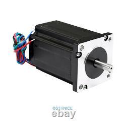 3 Axis DIY CNC Kit Mach3 Professional Control Board Nema24 2.94N. M Stepper Motor