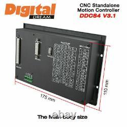 3 Axis Motion Controller Offline CNC 500KHz CNC Standalone Control DDCS V3.1