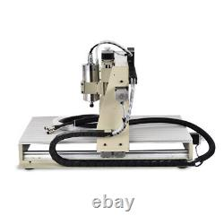3 Axis USB 1500W 6040 CNC Router Engraver Metal Milling Machine + Remote Control