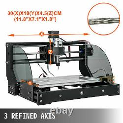 3018 Pro CNC Router 3 Axis with Offline Controller Laser Engraver Machine 10000RPM