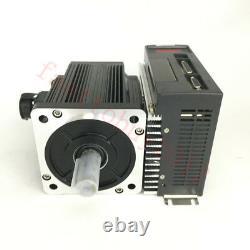 3Axis 4NM 1KW AC Servo Motor NEMA34 Driver 2500RPM+CNC Controller for CNC Router