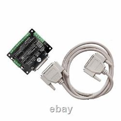 3Axis NEMA34 Stepper Motor Single 878oz 2A& Driver controller CNC Router Kit