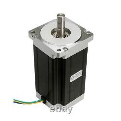 3Axis Nema 34 Stepper Motor 1600oz 3.5A & Driver 256micstep controller CNC Mill