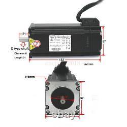 3Axis Nema23 3NM Closed Loop Stepper Motor Kit+CNC Controller+DC Power+Handwheel