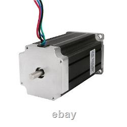 3axis Nema23 stepper motor 425oz-in Dual&Drivers CNC controller kit Free Ship