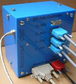 4 Axis 2.5 Amp CNC Router / CNC Mill Stepper controller
