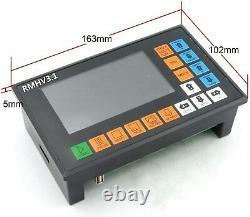 4 Axis 500KHz Offline Stand-alone CNC Router/Stepper/Servo Controller G code PLC