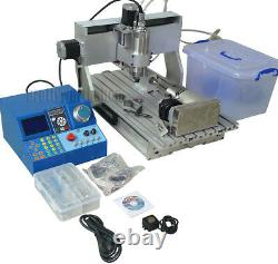 4 Axis CNC 3040 Router Milling Engraving Machine Wood Metal Carving LCD Control