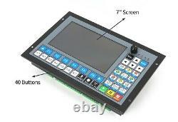 4 Axis CNC Controller Motion offline stand alone PLC+Handwheel MPG (DDCS EXPERT)