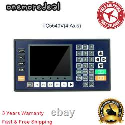 4 Axis CNC Motion Controller 3.5 Color LCD For Router Servo Stepper Motor #NEW