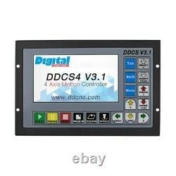 4 Axis CNC Motion Controller Offline 500KHz CNC Standalone Control DDCS V3.1 pan