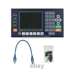 4 Axis Controller Motion with 3.5 Color LCD For CNC Router Servo Stepper Motor