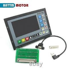 4 Axis DDCS V3.1 Offline CNC Motion Controller G code 500KHz with Handwheel ES
