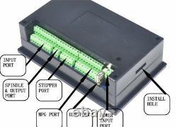 4 Axis DDCS V3.1 Standalone Offline System CNC Controller PLC+MPG HandwheelIT