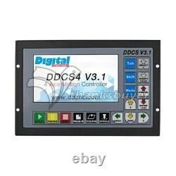 4 Axis Motion Controller Offline CNC Standalone Control DDCS V3.1 500KHz #SZ
