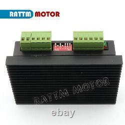 4 Axis NEMA23 Stepper Motor 425oz. In 112mm 3A +Driver USB CNC Controller KitFR