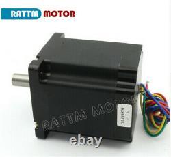 4 Axis Nema 34 stepper motor 878oz+ Driver+ 48V Power+Mach3 CNC Controller Board
