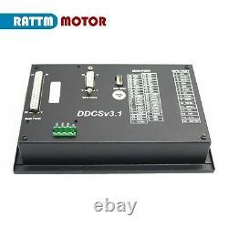 4 Axis Offline CNC Controller Kit with MPG+ Nema34 8N. M Servo Stepper Motor Driver