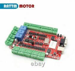 4 Axis USB CNC Controller Kit Nema23 425oz-in Stepper Motor 112mm&FMD274C Driver