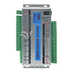 4 Axis USB Mach3 2000KHZ XHC Motion Control Card Breakout Board CNC Router thz