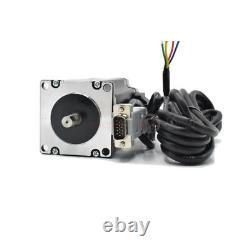 4Axis 3NM Closed Loop Stepper Drive Kit Nema23+CNC Controller+DC Power+Handwheel