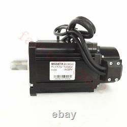 4Axis 750W AC Servo Motor Driver NEMA34 2.4NM 3000RPM Controller for CNC Milling