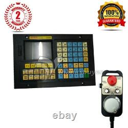 4Axis CNC Controller Kit MPG Pendant Handwheel withEmergency Stop +Controller TOP