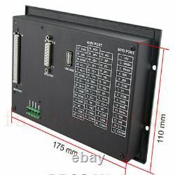 4Axis Offline StandAlone Replace Mach3 CNC Controller Handwheel MPG+Power Supply