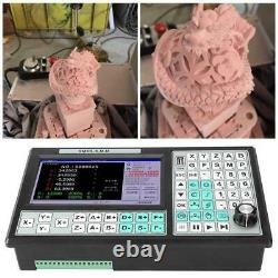 500KHz CNC 5 Axis Motion Controller Offline CNC Controller Mach3 USB 7in Screen
