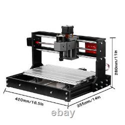 5500mW Upgrade CNC 3018 Pro GRBL Control DIY Router Engraver Machine 3 Axis Pcb