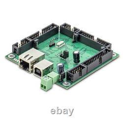 6 Axis Ethernet CNC Motion controller PLCM-E3+CNC software(PUMOTIX)