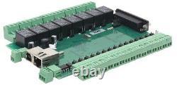 6 Axis Ethernet CNC Motion controller PLCM-E4+CNC software(PUMOTIX)