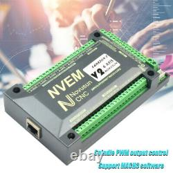 6Axis Controller Ethernet Interface Motion Control Card Board NVEM CNC For MACH3