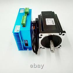 8.5NM 3Axis Stepper Motor Nema34 Closed Loop Hybrid Servo Driver+ CNC Controller