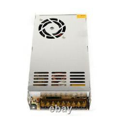 9-pack 3 Axis Nema 23 Stepper Motor 270 oz-in 3A Driver Controller CNC Kits