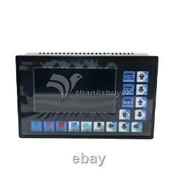 CNC 3-Axis Motion Controller Motor Driver 500KHz DDCSV2.1 +MPG Pendant Handwheel