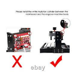 CNC 3018 Pro GRBL Control DIY CNC Machine 3 Axis Pcb Wood Router Engraver E0Y6