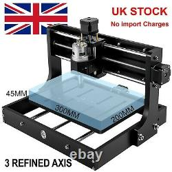 CNC 3020 PRO Router Bigger than CNC 3018 & OFFLINE CONTROLLER, 3 Axis GRBL